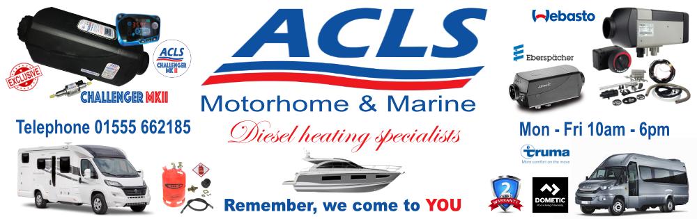 ACLS Retail - Motorhome : Marine : Commercial   Lanark ML11 8SQ Tel 01555 662185